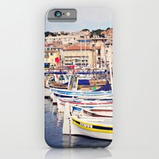 Boats in Cassis Harbor iPhone 6s Slim Case