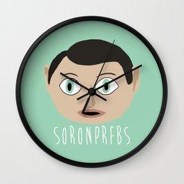 Soronprfbs Wall Clock