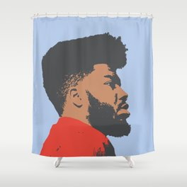 Khalid Shower Curtain