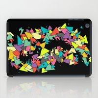 triangles iPad Cases featuring Triangles  by AtomicChild