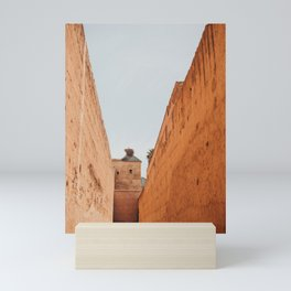 Giant Walls, Marrakech Mini Art Print