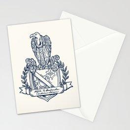 Nolite Te Bastardes Carborundorum_Crest Stationery Cards