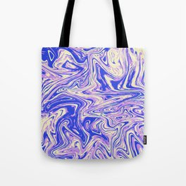Purple marble with raspberry tint Tote Bag