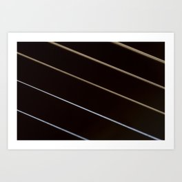 Guitar String Abstract 3 Art Print