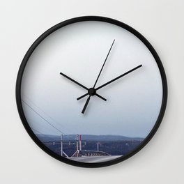 Big Drop Ahead Wall Clock