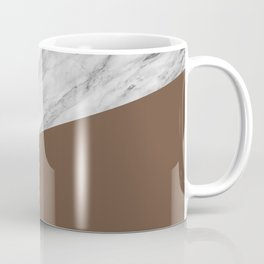 Marble with Emperador Color Coffee Mug