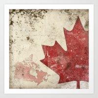 canadiana Art Print