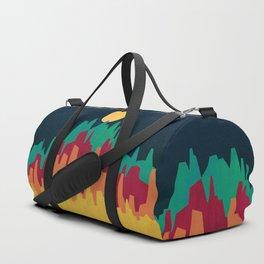 Rocky Landscape Duffle Bag