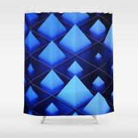 sandman Shower Curtains featuring mr. sandman by Patrick R. Gschwind