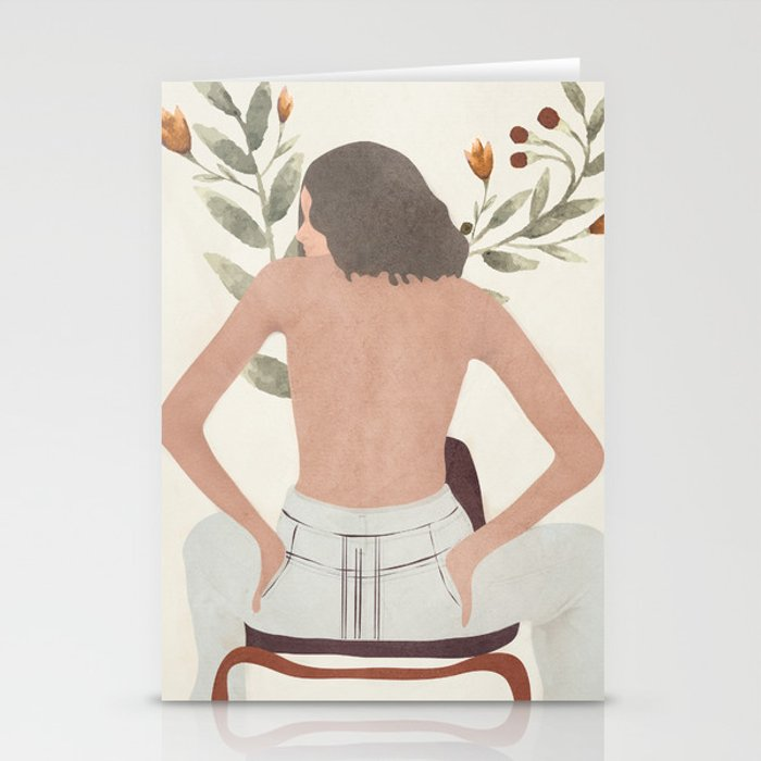 Female Beauty I Stationery Cards