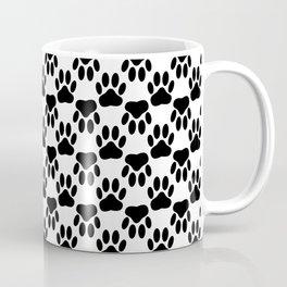 Up And Down Dog Paws Coffee Mug