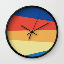 Abstracted Lines Wall Clock