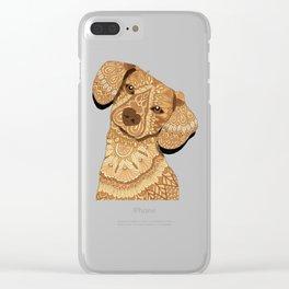 Schatzi Clear iPhone Case