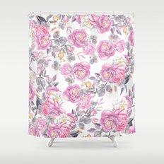 Elegant Pink Gray Waterc