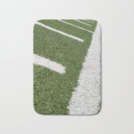 Football Lines Bath Mat