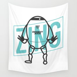 Big Brother Zingbot 3000 Tee Wall Tapestry