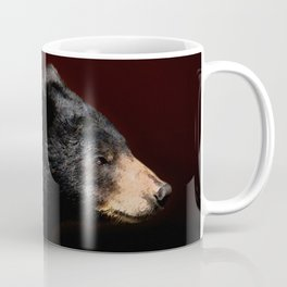 Young Black Bear Portrait Coffee Mug