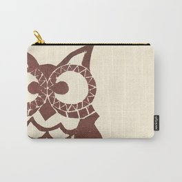 Retro Owl Carry-All Pouch