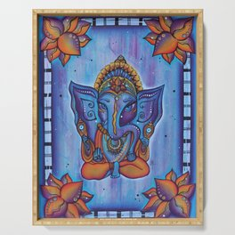 Ganesh - Remover of Obstacles Serving Tray