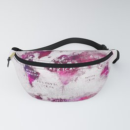 world map 28 Fanny Pack