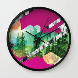 Gift Wrap Two Wall Clock