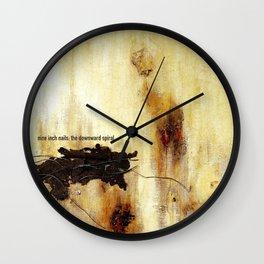 NIN - The Downward Spiral Wall Clock
