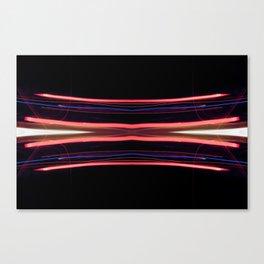 Electroflux Canvas Print