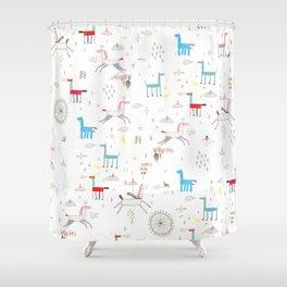 Merry-go-round Shower Curtain