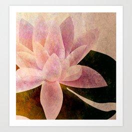 Lotus of my Heart Art Print