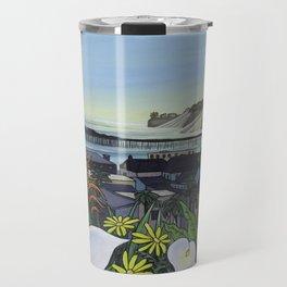Capitola Village Wharf Travel Mug