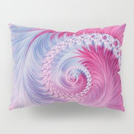 Crystal Spiral Abstract Pillow Sham
