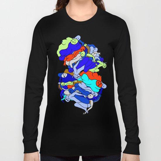 Sleepy Heads - Sapphire Blue Long Sleeve T-shirt