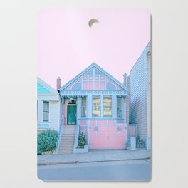 San Francisco Painted Lady Victorian House Cutting Board