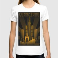 china T-shirts featuring Guangzhou (China) by Misha Libertee