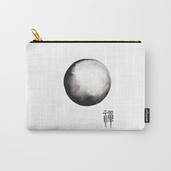 """Zen painting and Chinese calligraphy of """"Zen"""" Carry-All Pouch"""