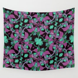 Floral Arabesque Pattern Wall Tapestry
