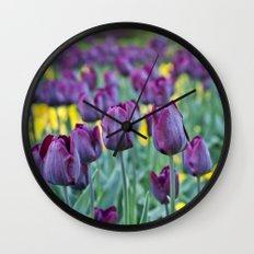 morados Wall Clock