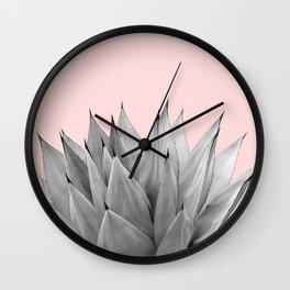 Agave Vibes #9 #tropical #decor #art #society6 Wall Clock