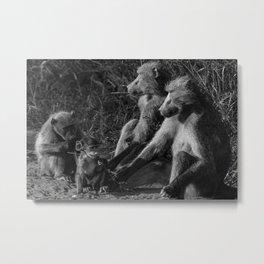 Family Picnic Metal Print