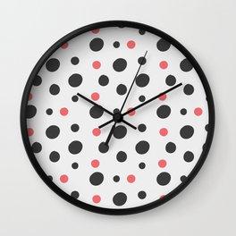 Hipster Circle Pattern Wall Clock