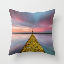 Fixed Link Or The Road To Hell Throw Pillow