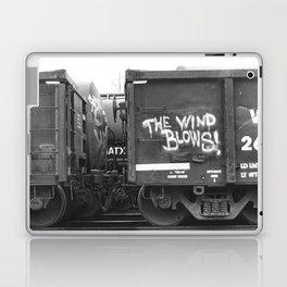 The Wind Blows Laptop & iPad Skin