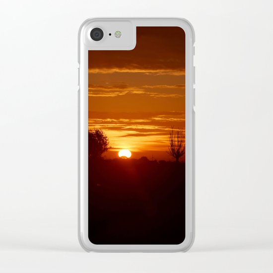 City Sunlight Clear iPhone Case