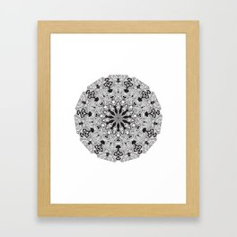 MANDALA #10 Framed Art Print