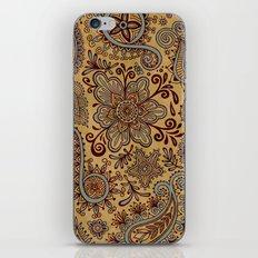 Cosmic Paisley Henna iPhone & iPod Skin