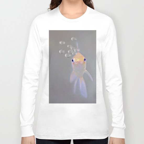 You looking at me, fishy?  Long Sleeve T-shirt