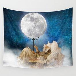 Good Night Moon Wall Tapestry