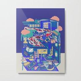 Vice City Metal Print