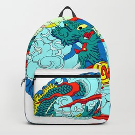 Tokyo Asakusa Dragon Backpack