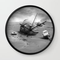 surreal Wall Clocks featuring Surreal by APO+